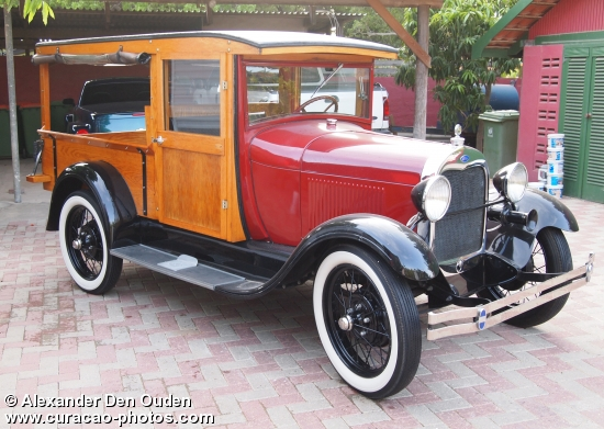 1928 Model-A Ford pick-up,oldest pick-up ever built, beautifully restored in Jan Thiel